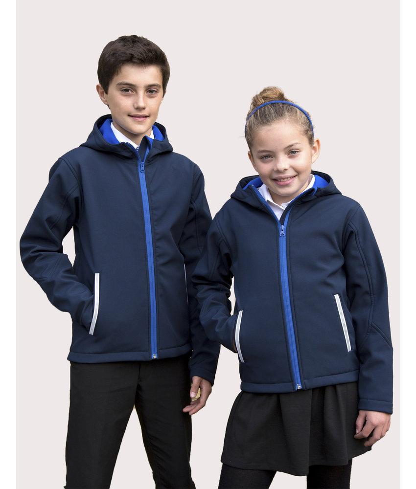 Result Core | R224J/Y | 880.33 | R224J/Y | Kids TX Performance Hooded Softshell Jacket