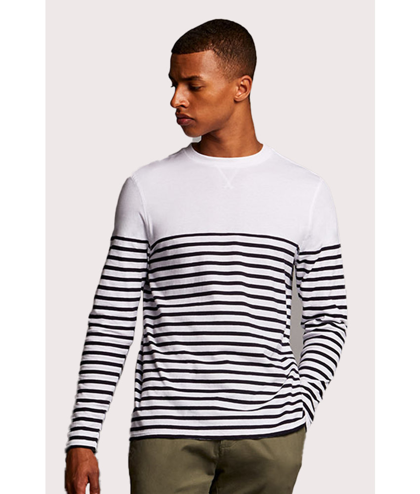 Front Row Collection | FR134 | Long sleeve Breton t-shirt