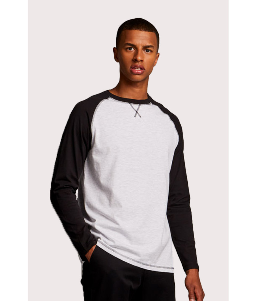 Front Row Collection | FR140 | LONG SLEEVED BASEBALL T-SHIRT