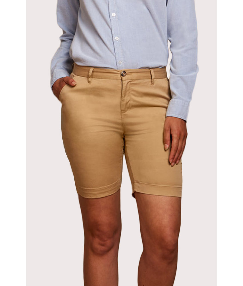 Front Row Collection | FR606 | Ladies' Stretch Chino Shorts