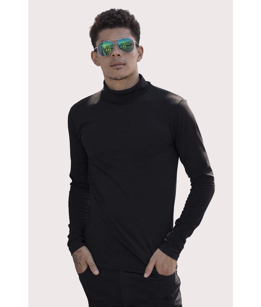Skinni Fit | SFM125 | Men's Feel Good Roll Neck T-Shirt