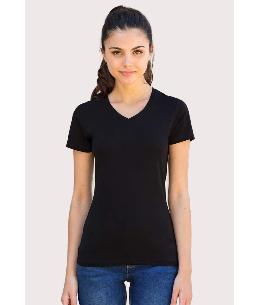 Skinni Fit | SK122 | Ladies' Feel Good V-neck T-shirt