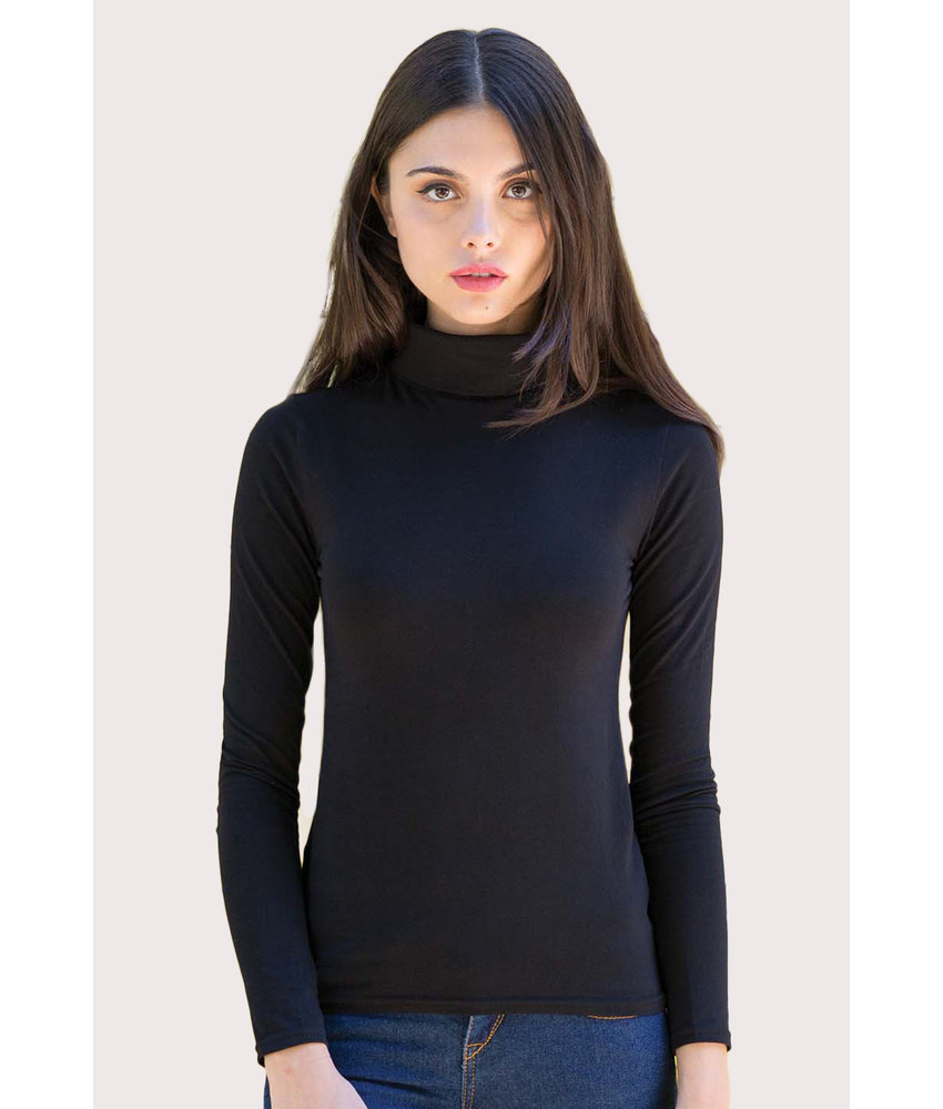Skinni Fit | SK125 | Ladies' Feel Good Roll Neck Top