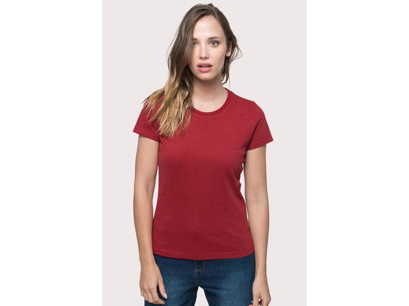 Kariban Vintage Vintage dames-t-shirt met korte mouwen