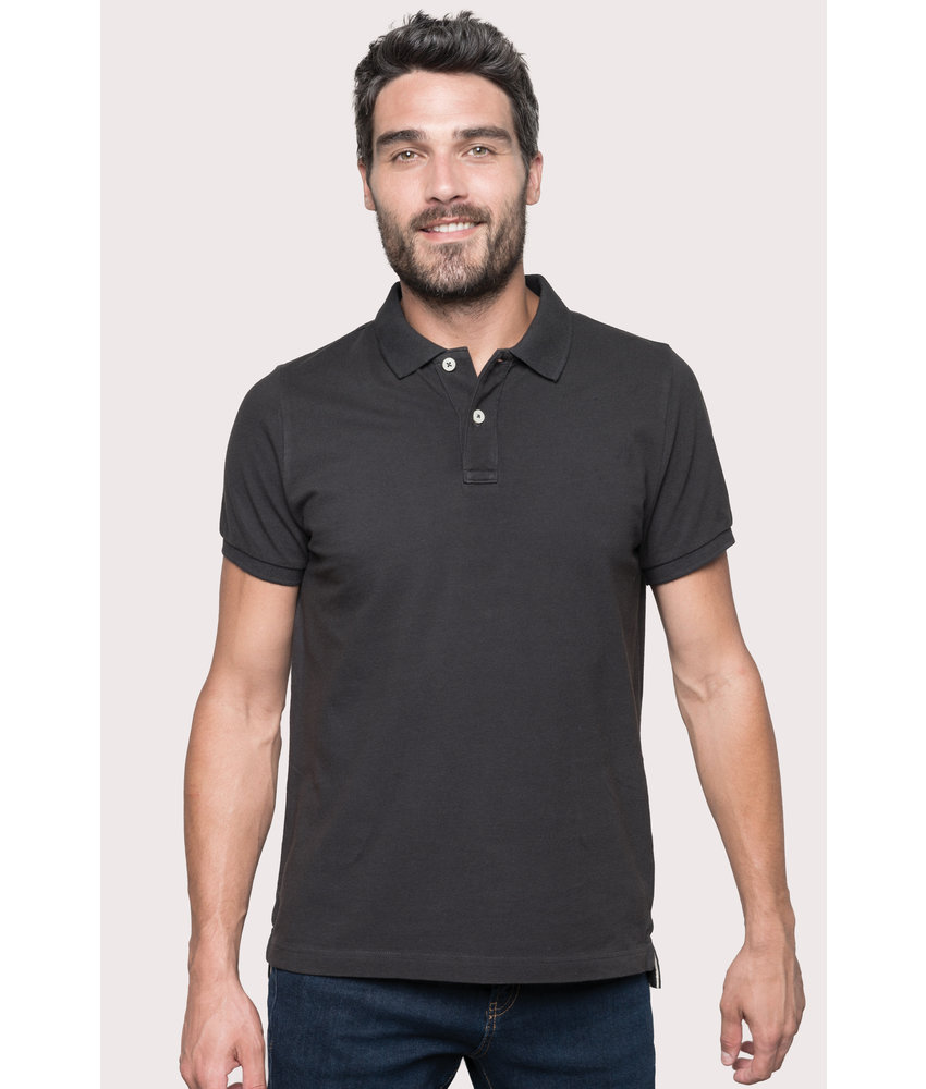 Kariban Vintage | KV2206 | Men's vintage short sleeve polo shirt