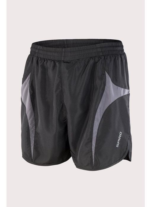 Spiro   S183X   029.33   S183X   Unisex Micro Lite Running Shorts