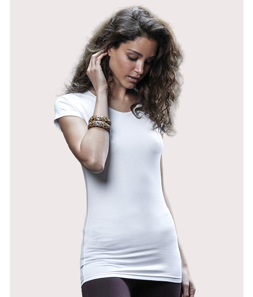 Tee Jays | 137.54 | 455 | Ladies' Stretch Tee Extra Long