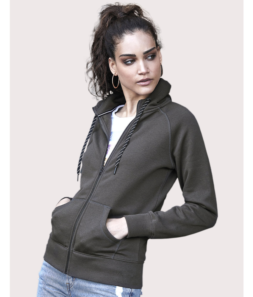 Tee Jays | 255.54 | 5436 | Ladies' Fashion Full Zip Hood