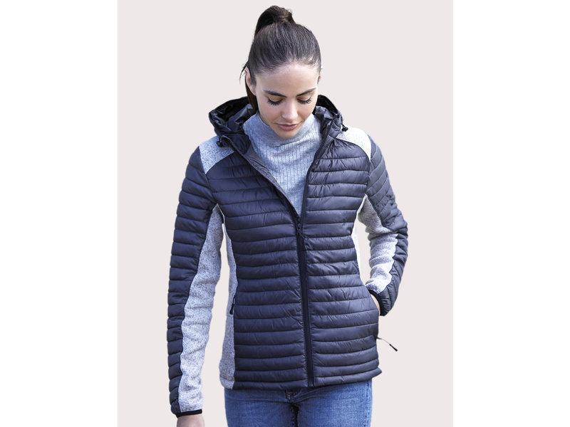 Tee Jays Ladies' Hooded Outdoor Crossover Jacket