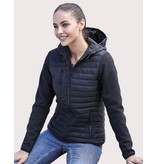 Tee Jays Ladies' Hooded Crossover Jacket