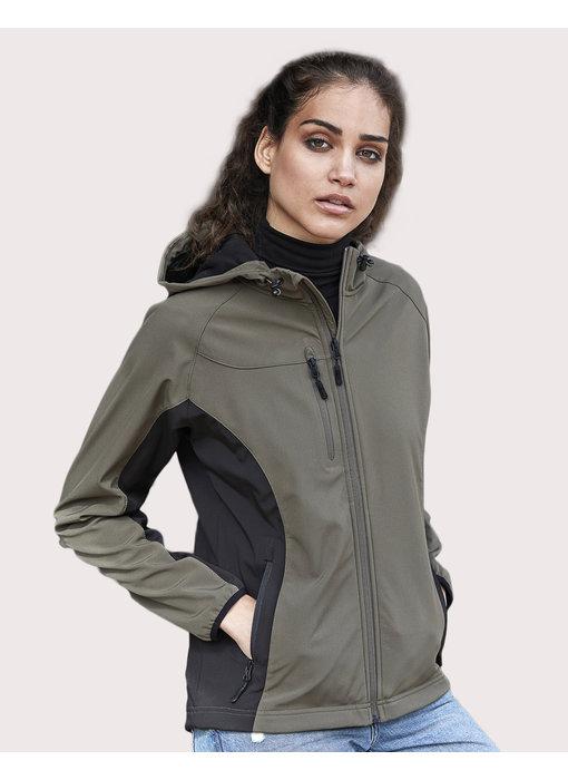 Tee Jays | 436.54 | 9515 | Ladies' Hooded Lightweight Performance Softshell