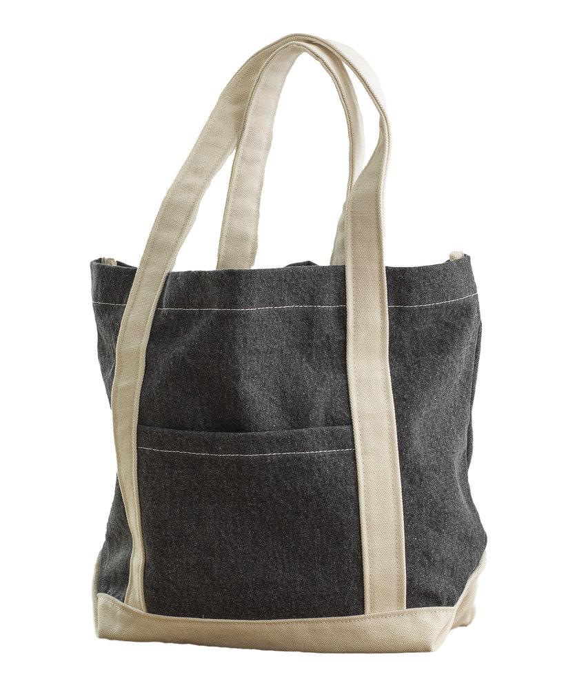 Bags by Jassz | 638.57 | CA-3828 DS | Canvas Denim Shopper