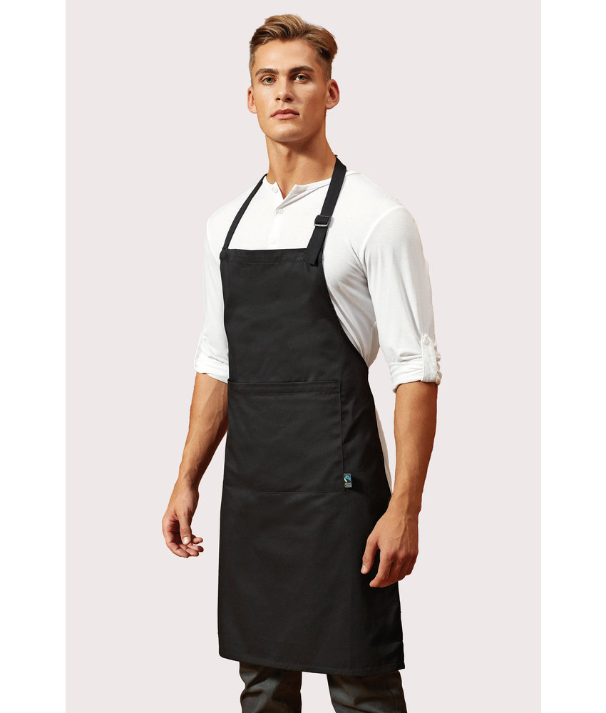 Premier | PR112 | Fairtrade Bib Apron