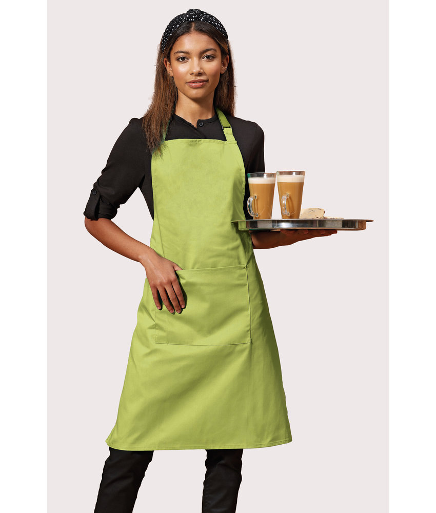 Premier | PR154 | Colours Bib Apron With Pocket