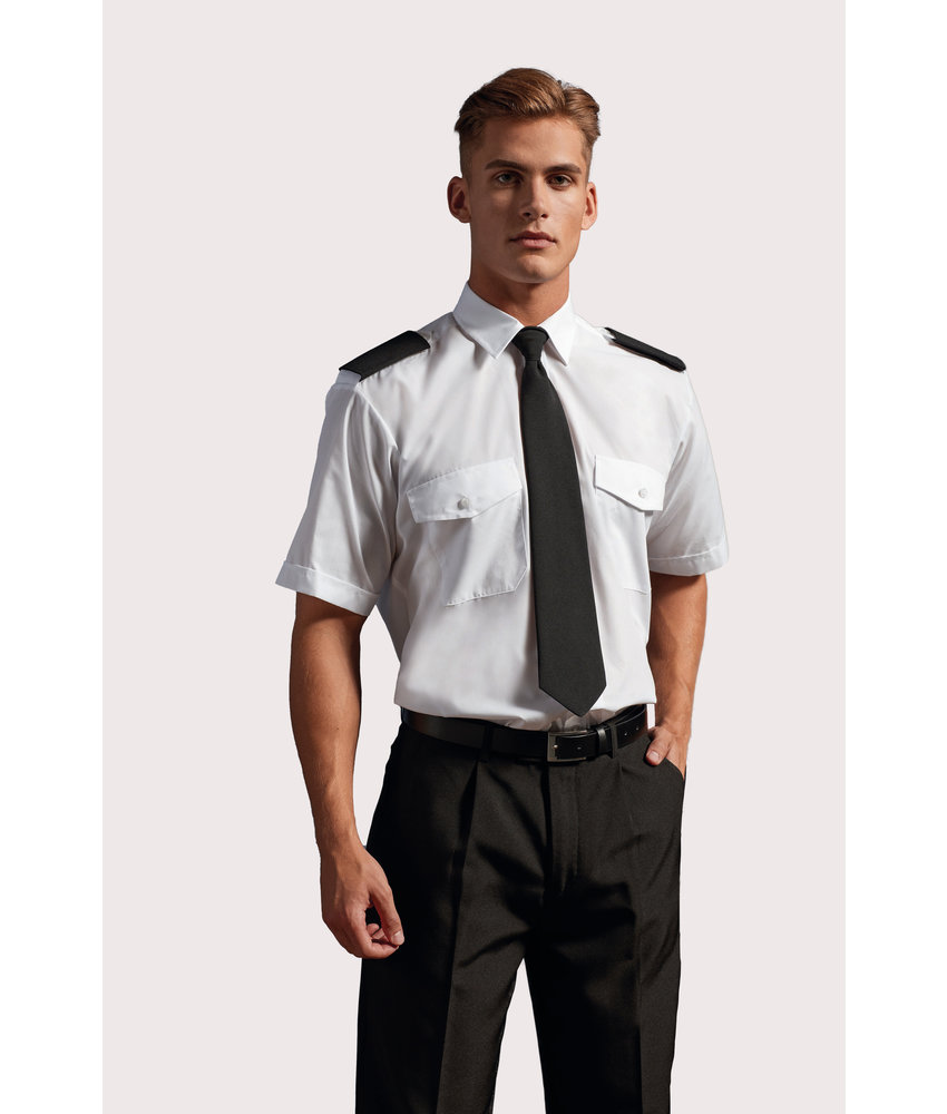 Premier | PR212 | Men's Short-Sleeved Pilot Shirt