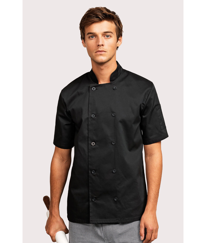 Premier | PR656 | Short-Sleeved Chef's Jacket