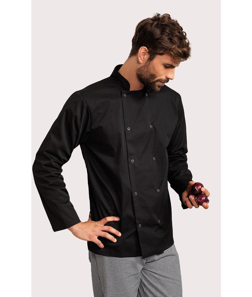 Premier | PR665 | Long-Sleeved Press StudChef's Jacket