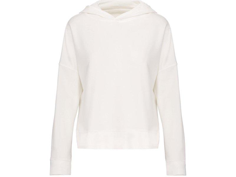 Kariban Damessweater met capuchon Lounge bio