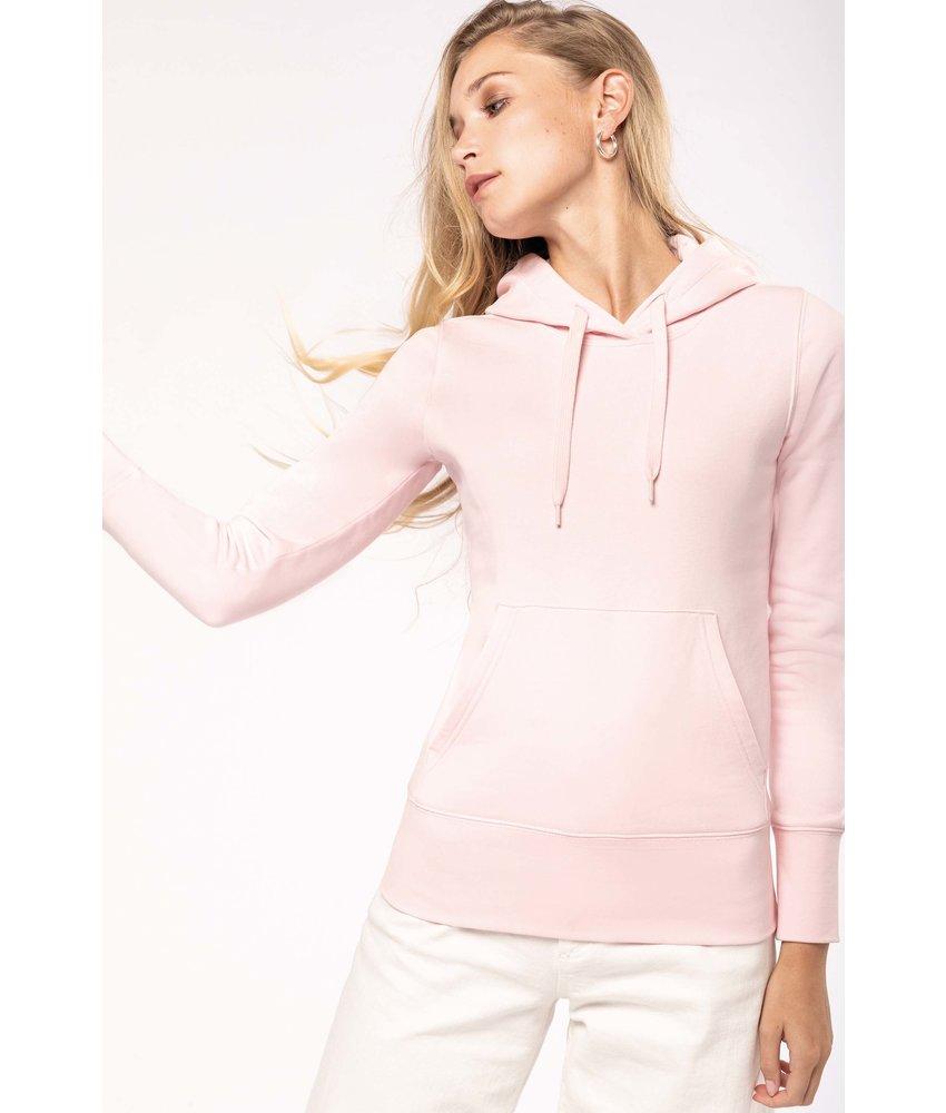 Kariban K4028 - Ecologische damessweater met capuchon
