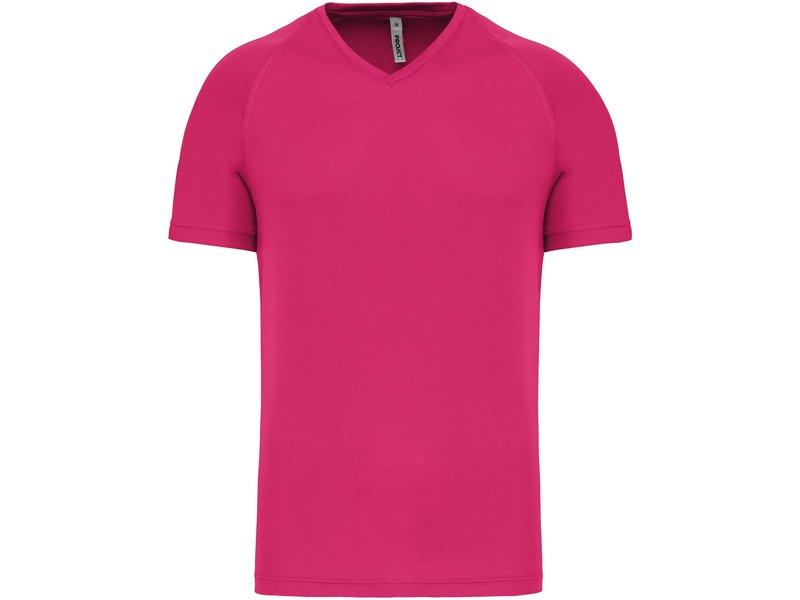Proact Heren Sportshirt V-hals