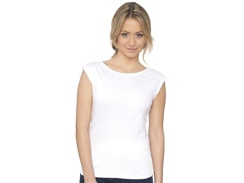Nakedshirt Bessy - Rolled Up Sleeve Tanktop