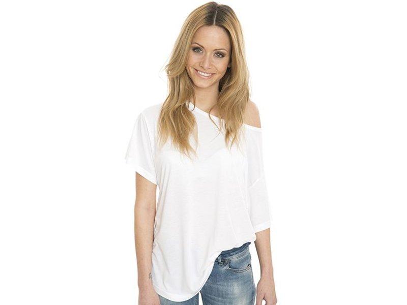 Nakedshirt Kate - Viscose-Cotton Faschion Boxy T-shirt