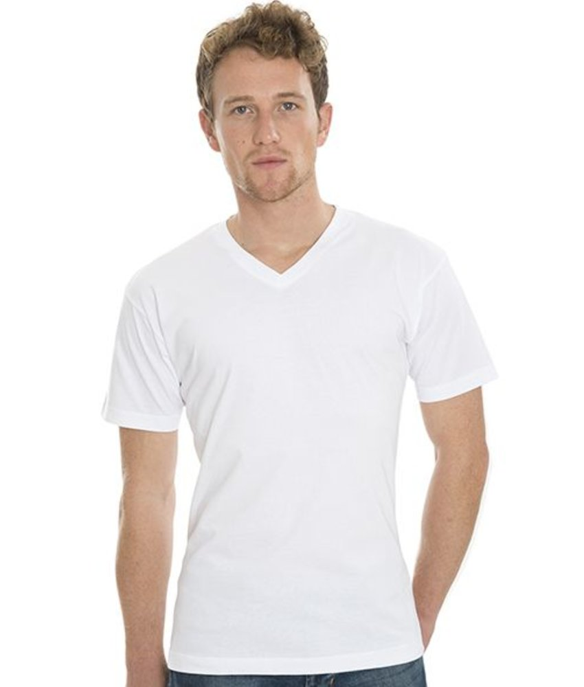 Nakedshirt James - Men's Organic V-Neck T-Shirt
