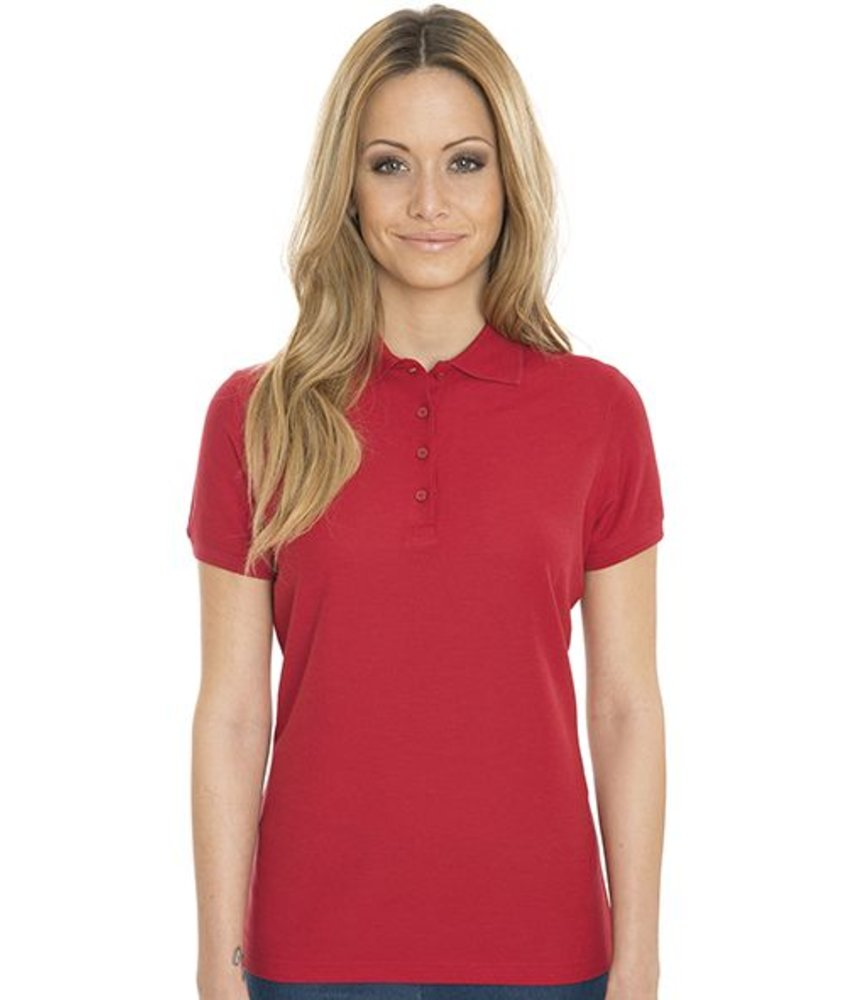 Nakedshirt Grace- Women's Viscose-Cotton Pique-Polo