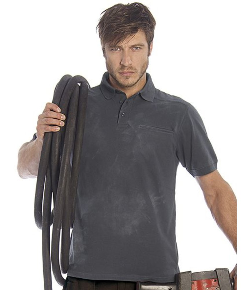 B&C Pro Workwear Pocket Polo
