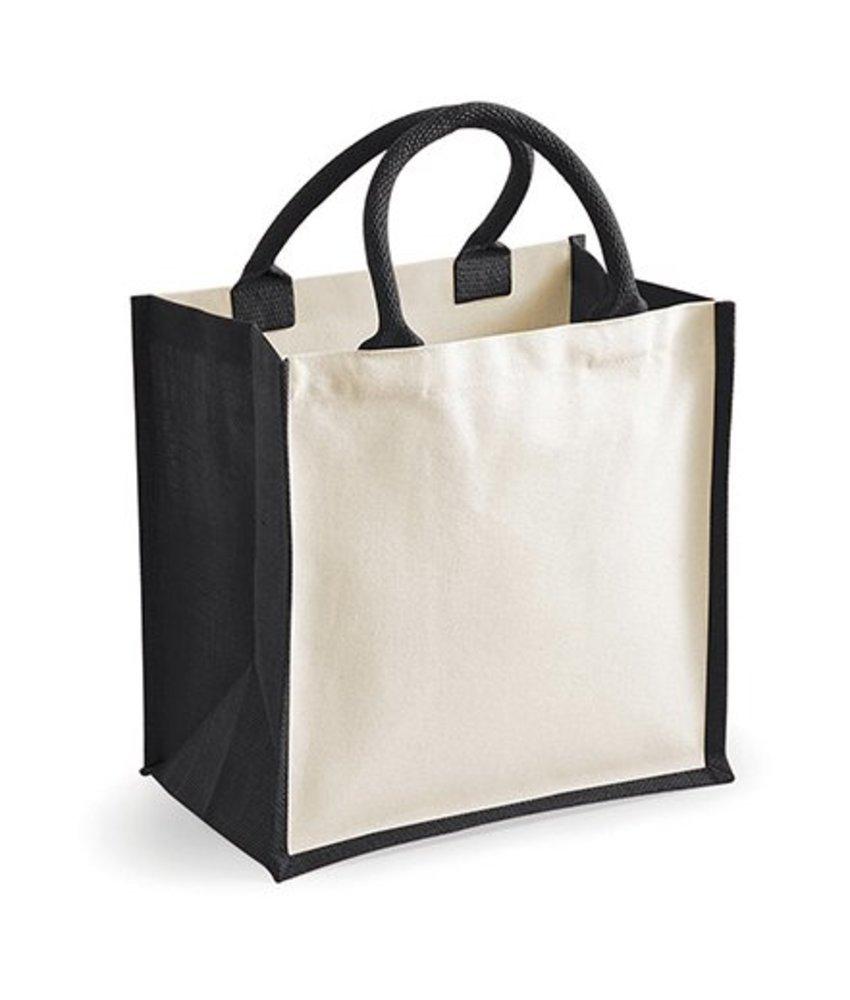 Westford Mill Printers' Midi Jute Bag