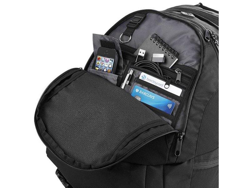 Quadra Vessel Laptop Backpack Black