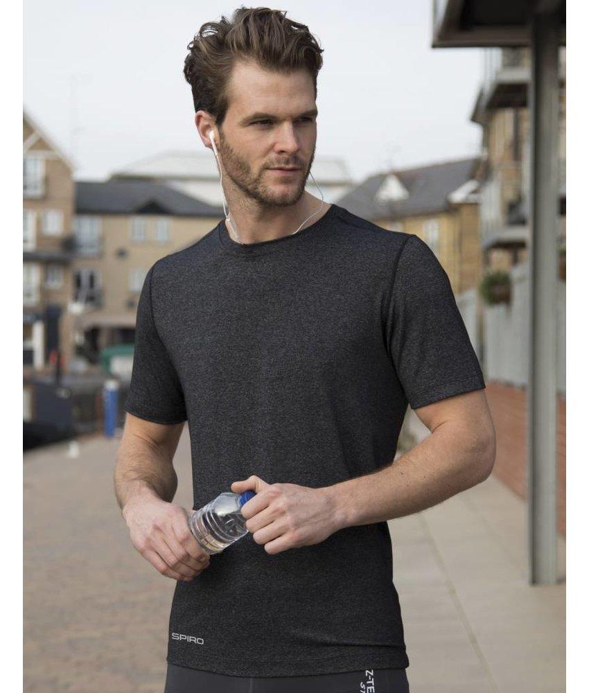 Spiro Fitness Men's Shiny Marl Sportshirt
