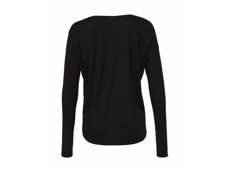 Bella + Canvas Long Sleeve Flowy 2x1 Viscose T-Shirt