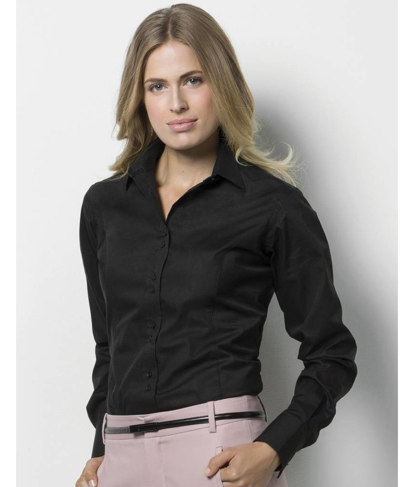 Kustom Kit Womens City Business Blouse LS