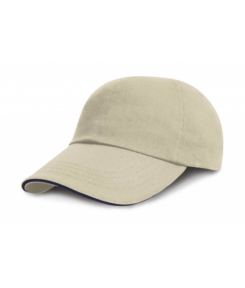 Result Headwear Kids Brushed Cotton Twill Cap