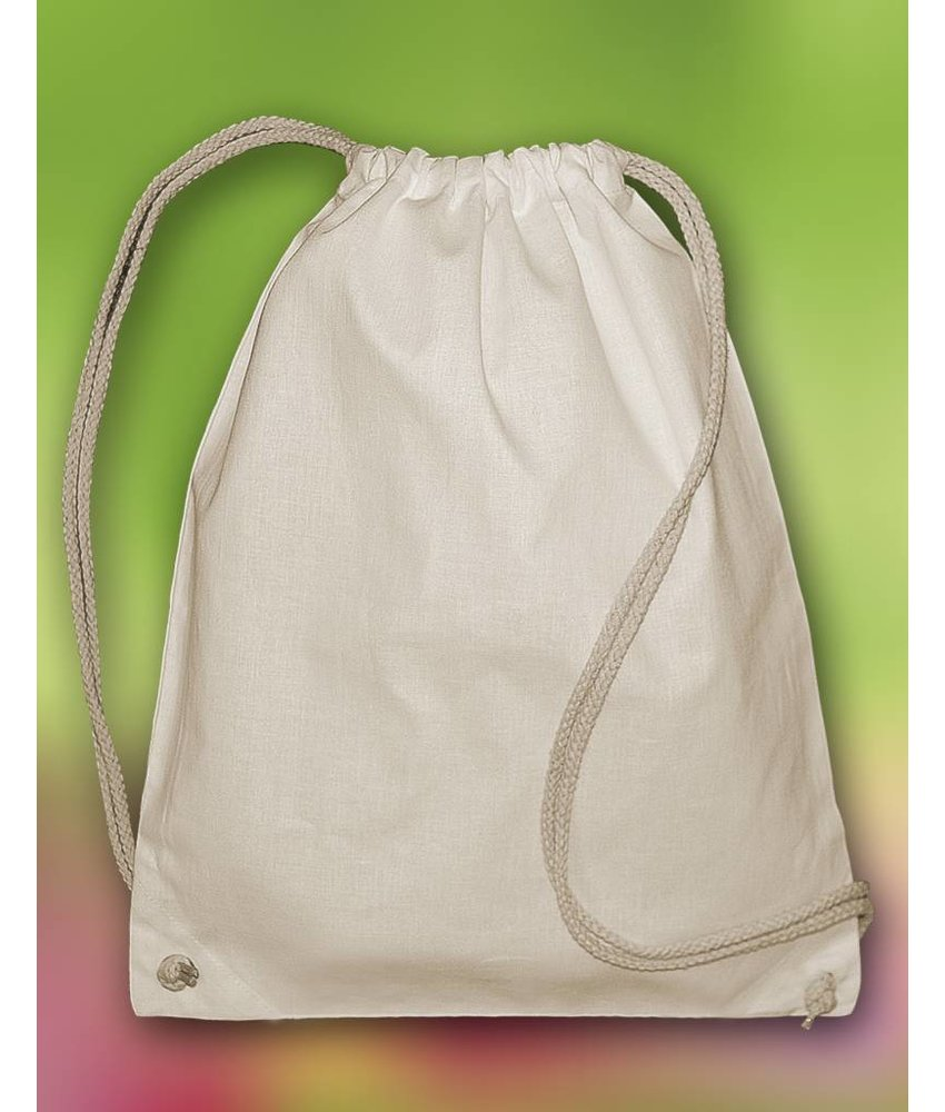 Bags by Jassz | 608.57 | OG Backpack | Organic Cotton Drawstring Backpack
