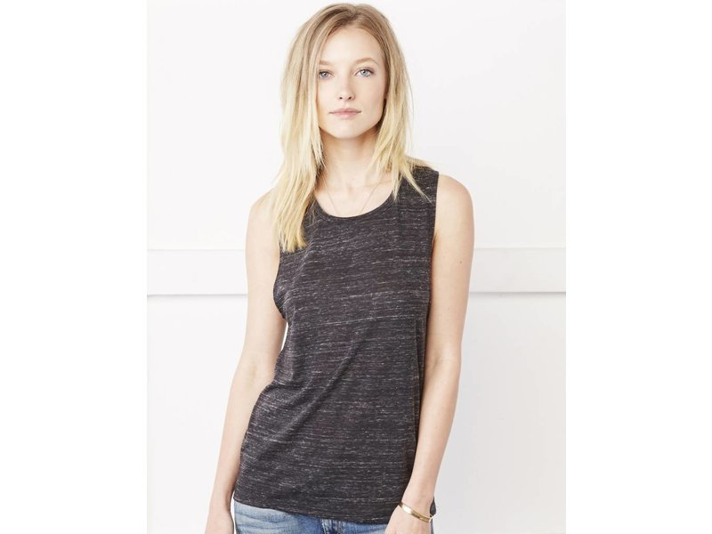 Bella + Canvas Flowy Scoop Muscle Tanktop