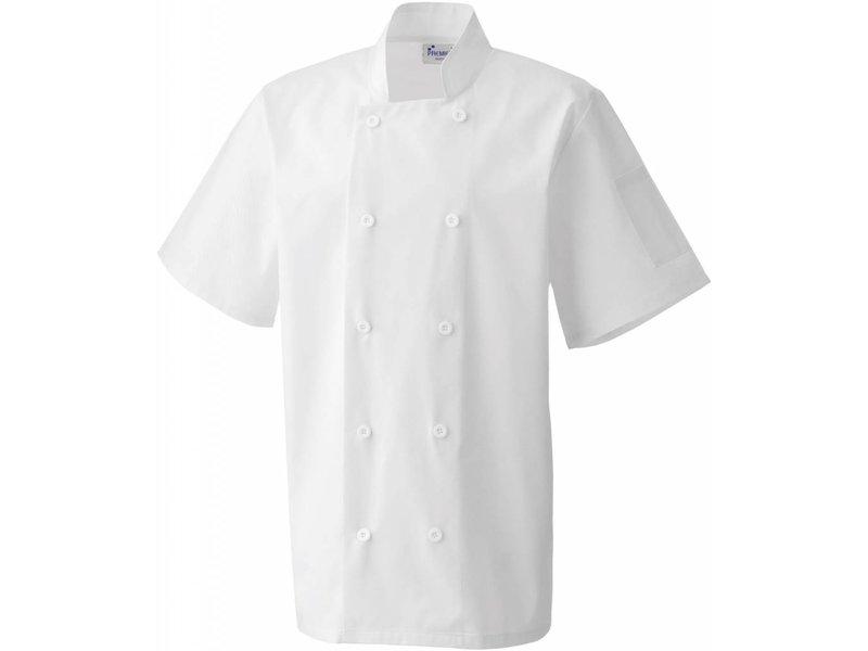Premier Short Sleeve Chefs Jacket