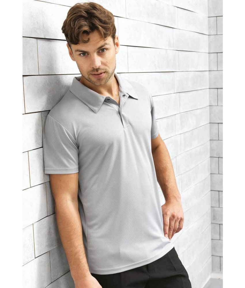 Premier Coolchecker Studded Polo