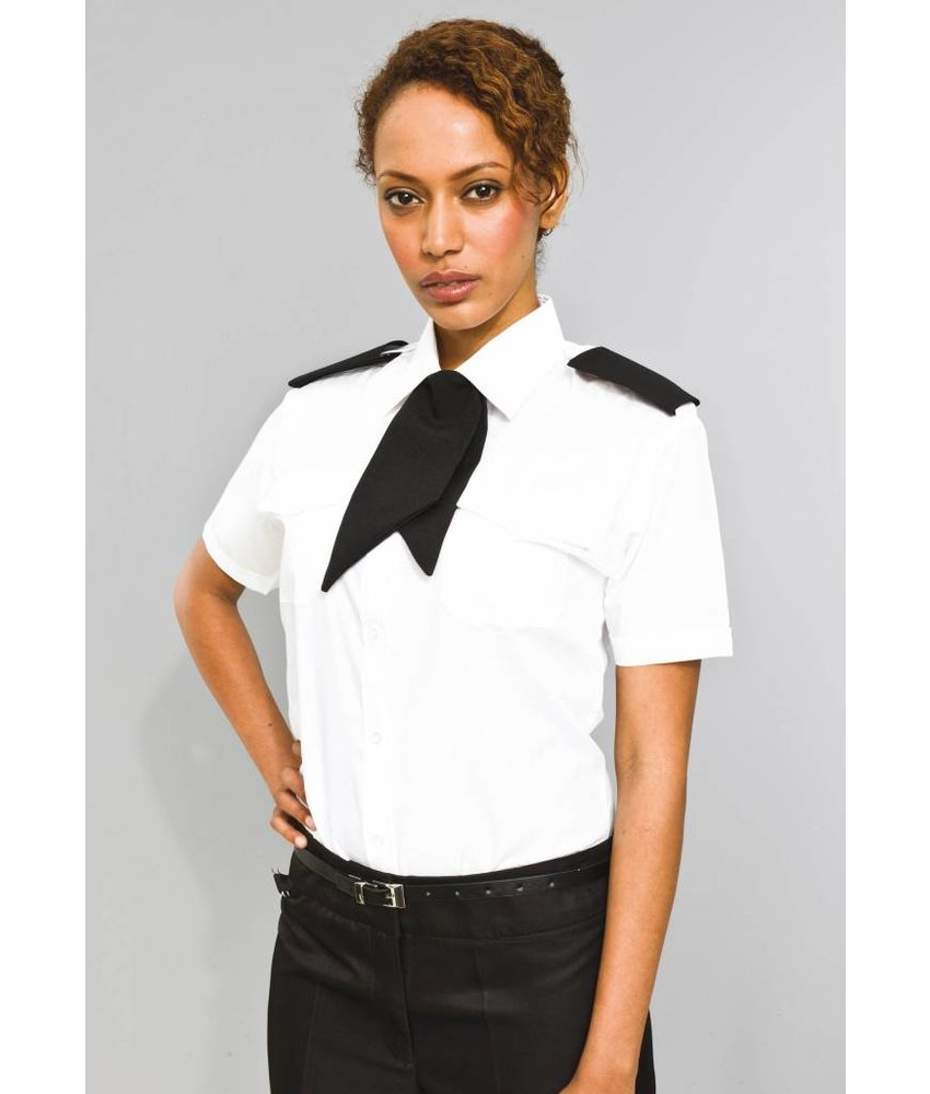 Premier Ladies Pilot Short Sleeved Blouse
