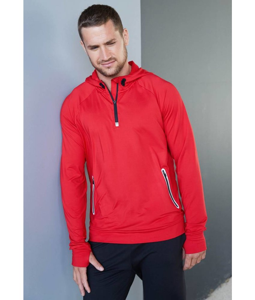 Proact 1/4 Zip Hooded Sports Sweater