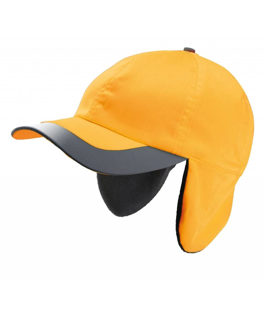 K-UP Fluorescent Winter Cap - 6 Panels