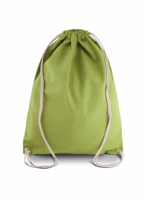 Kimood | KI0125 | Cotton drawstring backpack