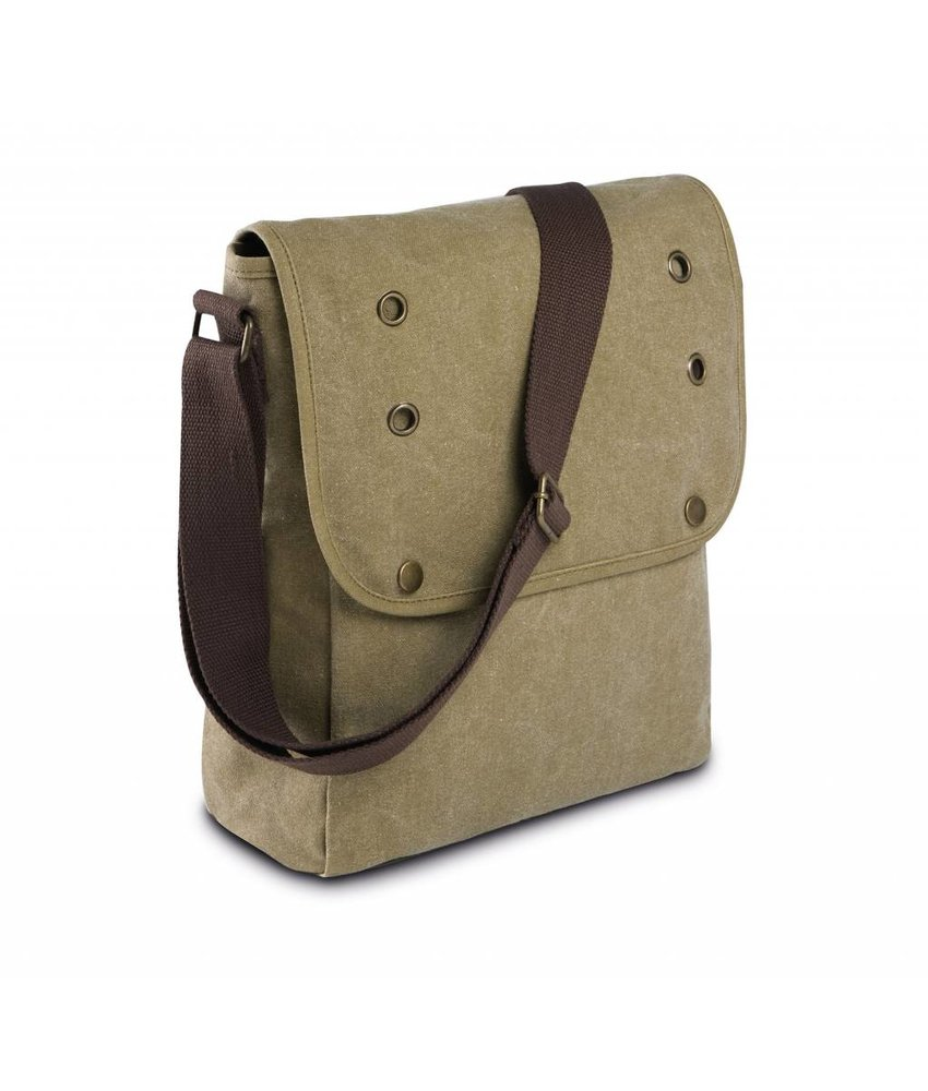 Kimood Shoulder Bag In Canvas