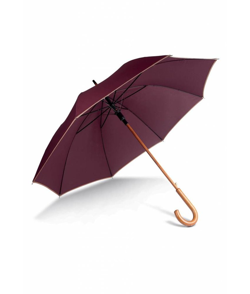 Kimood | KI2020 | Auto open wooden umbrella