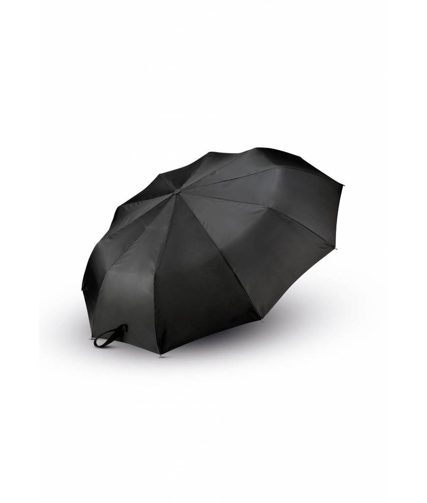 Kimood Classic J Handle Foldable Umbrella