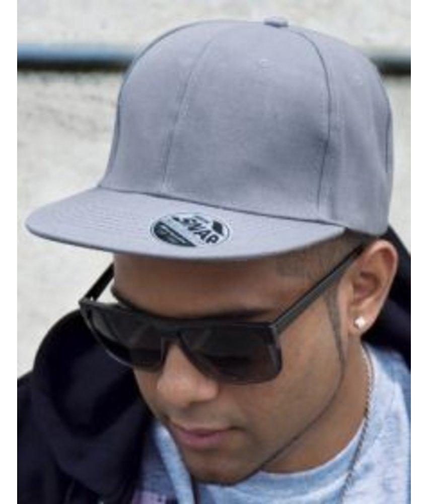 Result Headwear Bronx Original Flat Peak Snap Back Cap