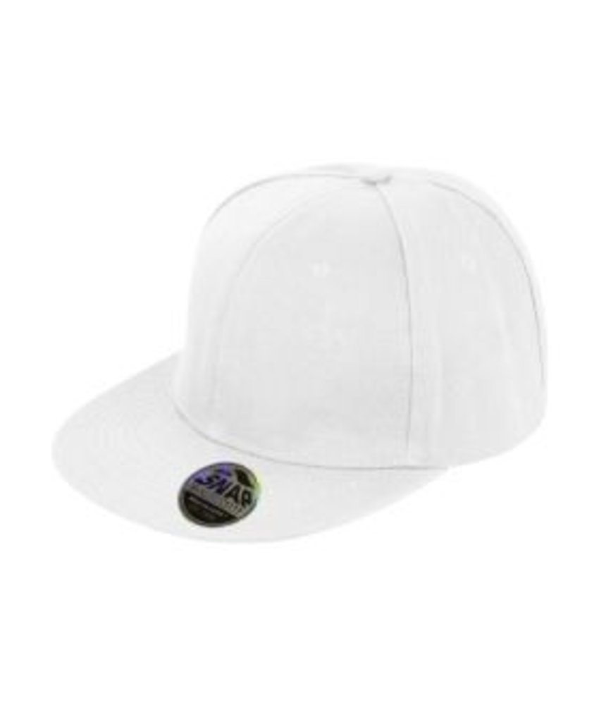 Result Headwear Bronx Original Flat Peak Snap Back Cap