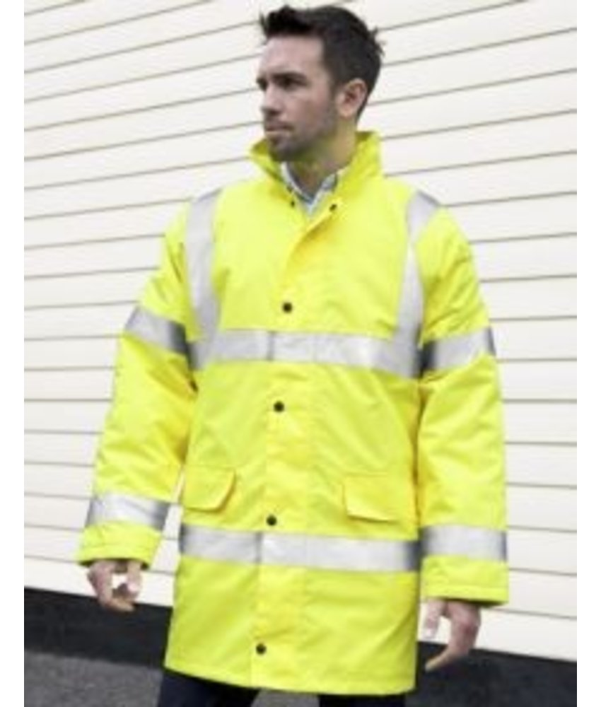 Result Safe Guard Core High Viz Motorway Coat