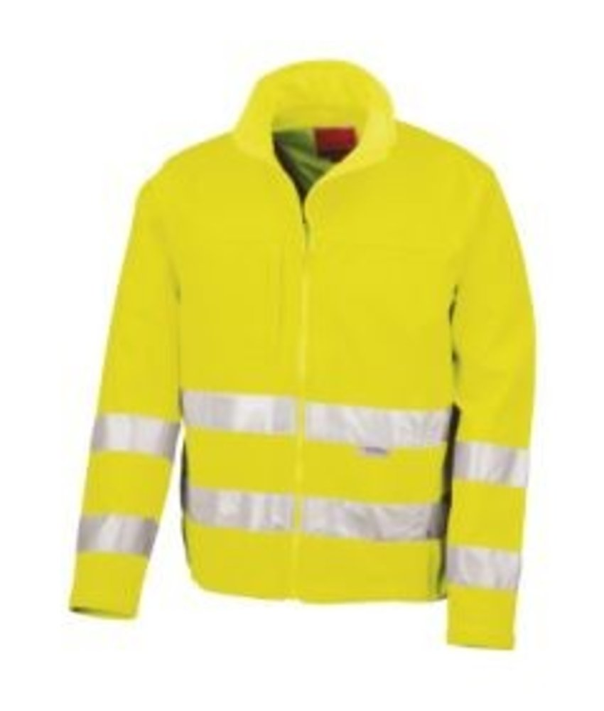 Result Safe Guard | R117 | 427.33 | R117X | High-Viz Soft Shell Jacket
